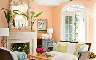 Цвет розово персиковый