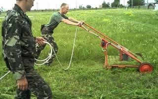 Бензиновая газонокосилка своими руками