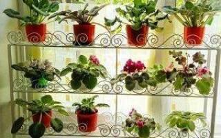 Стойки на подоконник для цветов