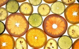 Все виды цитрусовых
