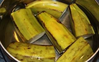 Подкормка комнатных растений банановой кожурой